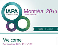 IAPA Conference Website