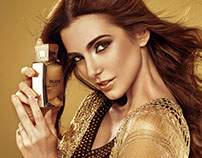 oud perfume print ad