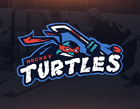 Hockey Turtles | Concept