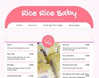 Rice Rice Baby - Responsive Restaurant Menu