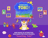 App for kids - Good dog, Tobi