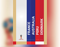 Posters - 2018 FIFA World Cup Russia (Group C)