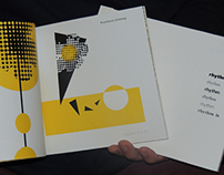High Design Book and Card Set