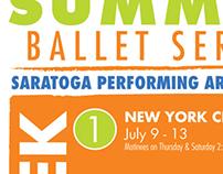 Summer Ballet Poster