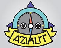 AZIMUT branding (id + interior)