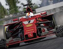 Testrender F1 Hockenheim 2018
