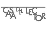 CASA DEL LECTOR. Corporate identity & Wayfinding