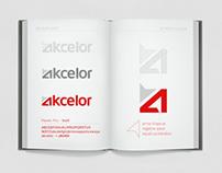 Akcelor logo