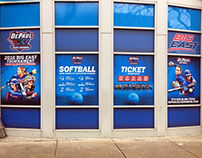 DePaul Softball Window Banners