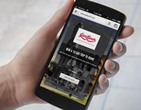 RFL webapp UI design