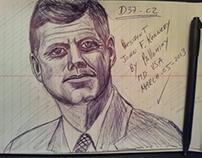 JFK by pallominy President John F Kennedy by pallominy