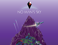 No Man's Sky Floating Island: Vector Graphics