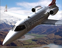 3D Aircraft Illustrations - Art for Customer