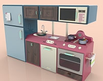 ARAN cucine - LUXURY Toy Kitchen