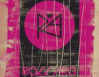 Estampa Rush para Roll Arg