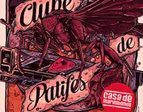 Poster Lançamento Casa de Marimbondo - Clube de Patites