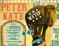 Peter Katz Concert Poster