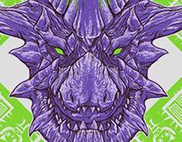 Monster Hunter Enemies Illustrations