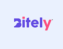 Bitely Modern Bird Logo
