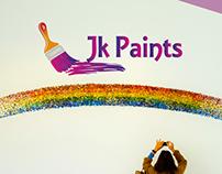 Jk paints logo