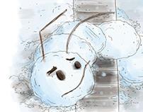 Snow Caterpillar