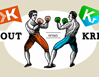 Infographic: Klout vs. Kred