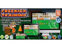 HTML5 Game: FreeKick Training
