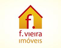 Logo F. Vieira Imóveis