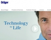 Dräger International Homepage
