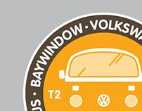 VWBus Stickers