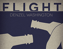 Flight Poster by DeQuan Russ