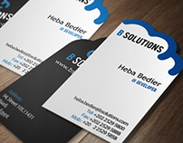 BSolutions Flyer and Business cards