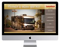 Lazydays Interactive Touchscreen