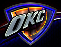 OKC Thunder Arena Animations (Outdoor Monitors)