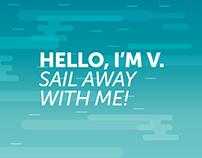 CV Sail away.