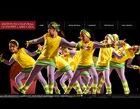Instituto Cultural Guiseppe Laricchia website