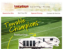 Lazydays Product Email - Football