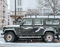 Paris ⏤ Montmartre under the snow