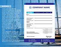 Invoice Template Design