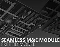 FREE 3D MODEL - Seamless M&E Module