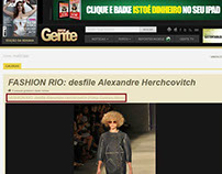 Fashion Rio - Inverno 2012 (Site Isto É Gente)