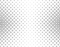 FREE Vector: Monochrome Geometrical Square Pattern