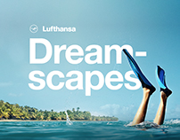 Lufthansa Dreamscapes Website - Case study
