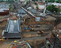 Ripage de pont SNCF - Oullins