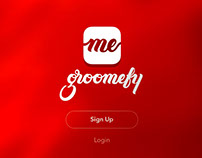 groomefy app concept design