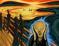 5th Scream: Loneliness.