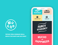 Mucho: recipe & groceries app