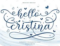 FREE | Hello Cristina - Modern Calligraphy Font