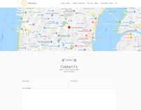 Contact Form Maps Page - Wedding WordPress Theme