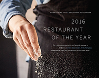 Editorial: Restaurant of the Year